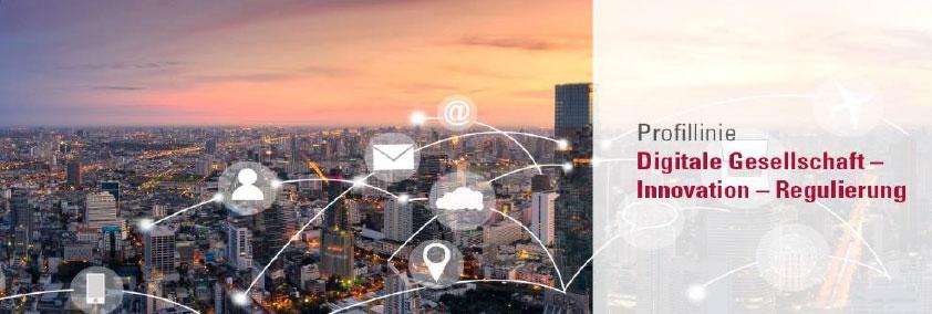 Symbolbild Profillinie 1: Digitale Gesellschaft - Innovation -Regulierung